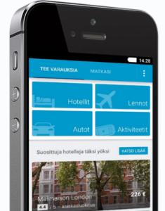 Ebookers mobile app