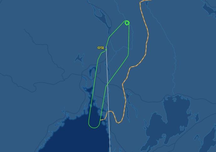 Norwegian Flightmap