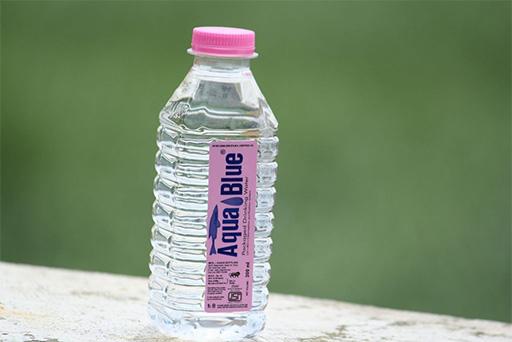 vesipullo turvatarkastus